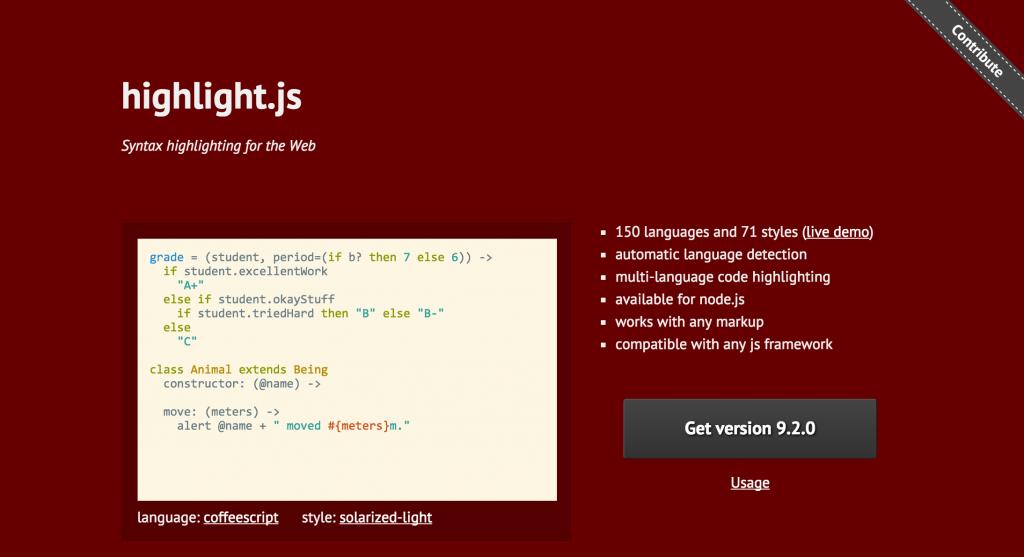 CSS/htmlソースコード表示プラグインでサイトが綺麗に!「highlight.js」の設定方法とカスタマイズコード
